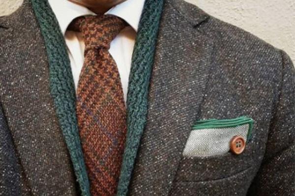 corbata de lana