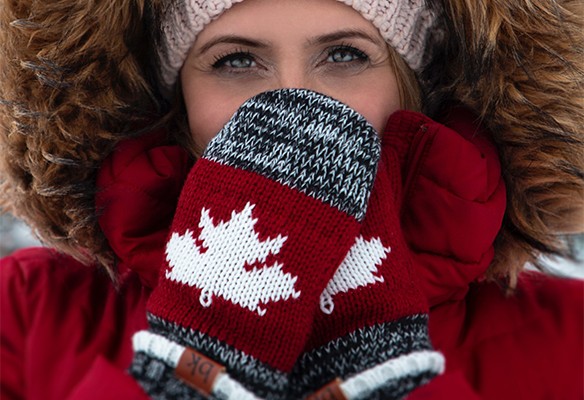 guantes de lana para niños, mujer y hombre